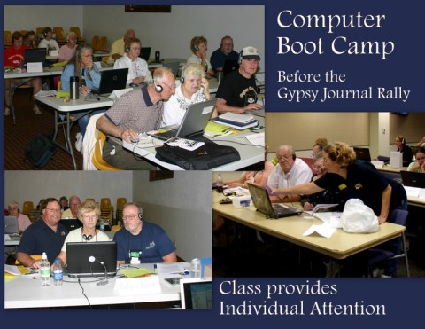 Gypsy Journal Computer Boot Camp by Geeks on Tour 9-23-11