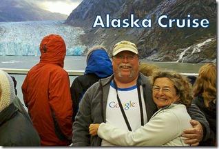 Jim and Chris at glacier