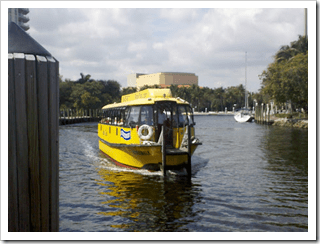 Taking a Water Taxi Ride on Fort Lauderdale's New River