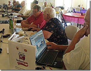 Hands-on PIcasa class at Techno-Geek Learning Rally