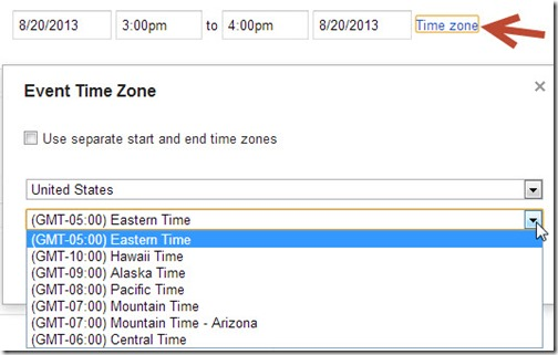 time-zone