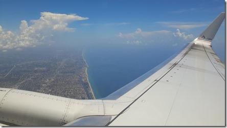Leaving Fort Lauderdale