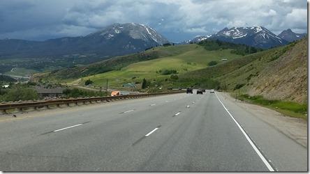 I-70 west thru Rocky Mountains