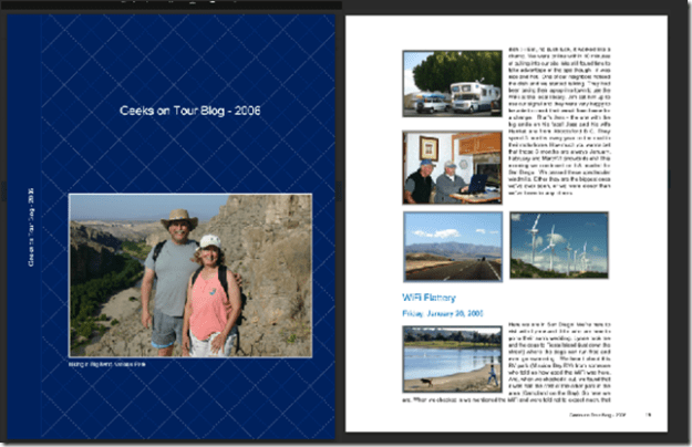 A .pdf file of one year of our blog