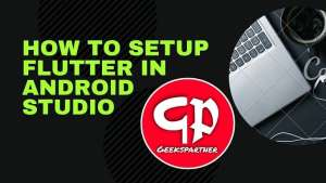 how to setup flutter in android studio