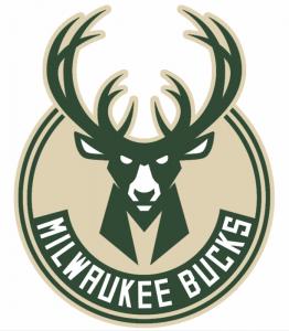 The Milwaukee Bucks logo, NBA team