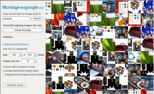Montage a Google