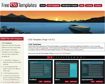 Free CSS Templates