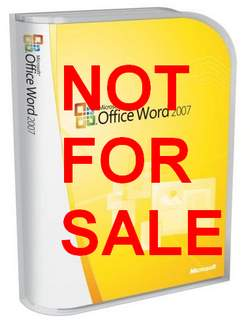 word-not-for-sale