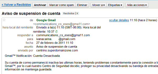 Gmail principal