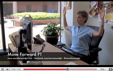 Algunos ejercicios para hacer mientras estamos frente a la PC [Videos]