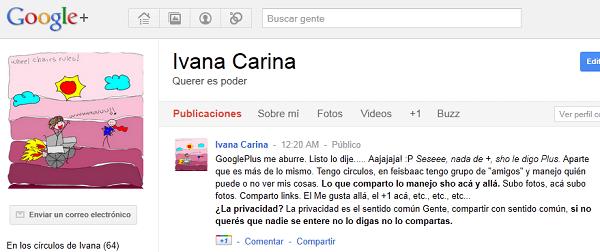 Google Plus: ¿+ (más) de lo mismo? ¡Qué buena pregunta! 4