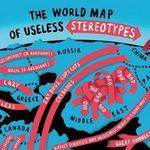 Mapa mundial de los estereotipos inútiles