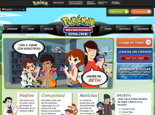 Juego De Cartas Coleccionables Pokemon Ahora Se Puede Jugar En Linea