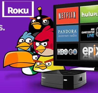 Roku 2: Brinda Televisión por internet, sin necesidad de una computadora