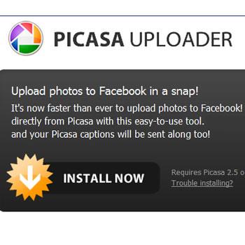 Cómo publicar fotos de Picasa en Facebook / Parte 1