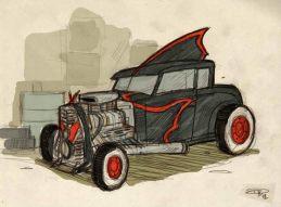 Rockabilly-Batmobile-Denis-Medri