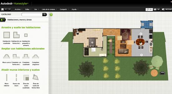 Autodesk homestyler para planear y dise ar tu pr xima casa for Disenar casa online con autodesk homestyler