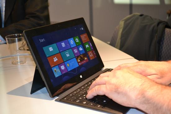 #HPDiscover En Microsoft no están preocupados por ventas de Surface