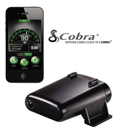 #CES2013 Detector de radares Cobra iRadar S-Series [automóviles]