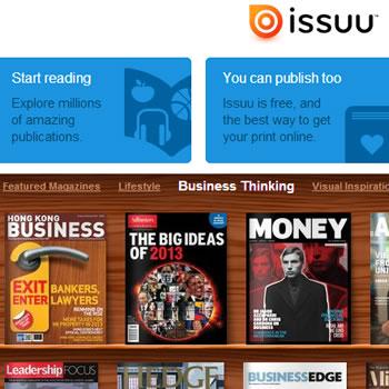 Issuu: Explora y distribuye millones de publicaciones