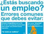 Errores comunes que deben evitar al buscar empleo