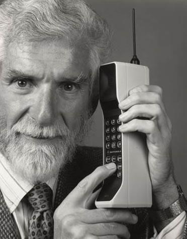 3 de abril de 1973-2013, 40 años de la primera llamada por teléfono móvil