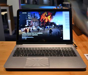 #HPDiscover 2013 Algunas de las computadoras táctiles optimizadas para Windows 8