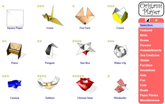 origami-player