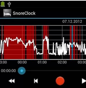 SnoreClock: Una aplicación que analiza tu sueño y ronquidos
