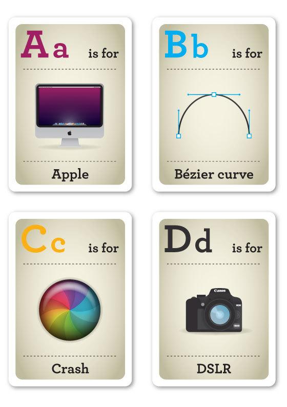 alfabeto-hipster-a-d