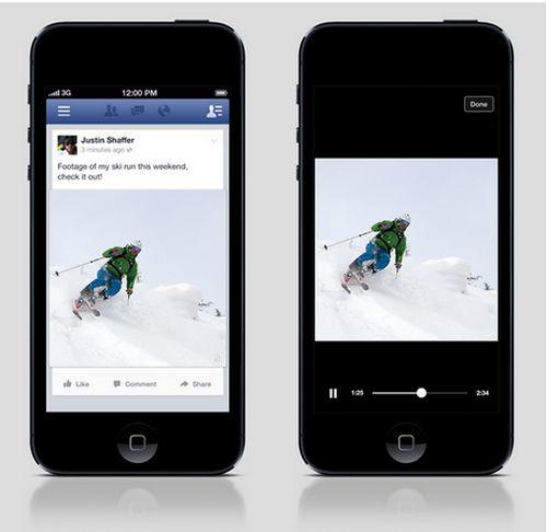 Facebook - Vídeos no Publicados
