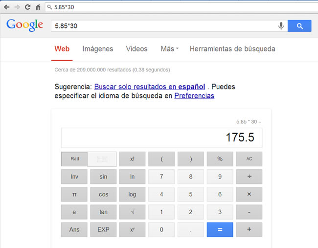 google-calculadora
