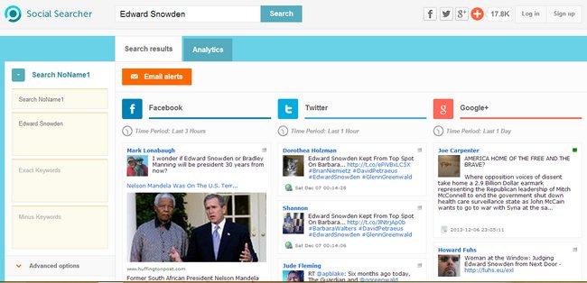 social-searcher