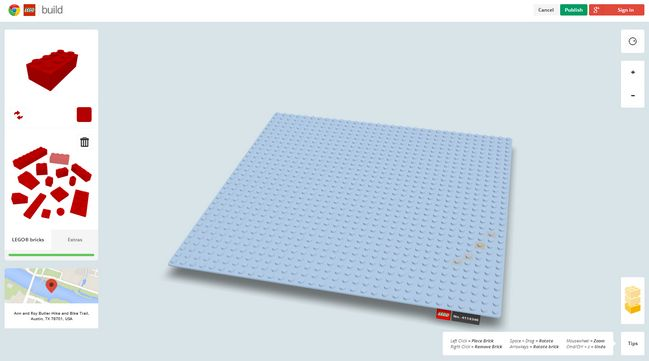 chrome-lego-experiment