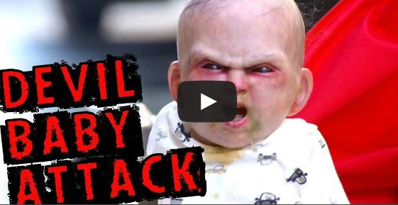 El bebé (Robot)  endemoniado de Nueva York es furor en las Redes Sociales