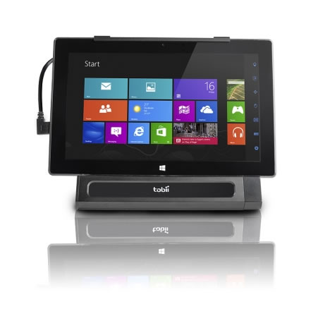 Tobii Mobile: Permite controlar con la vista,  una tablet con Windows 8 #CES2014