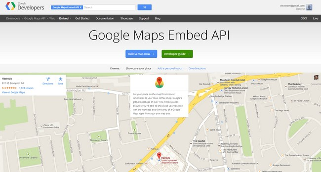 google-map-embed-api