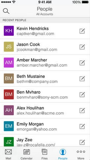 acompli-contacts-ios