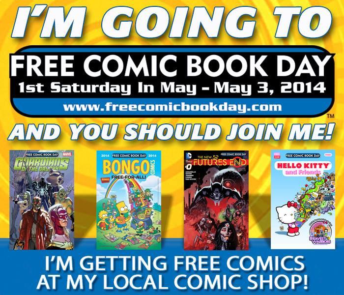 Free Comic Book Day España: En Todo El Mundo Hoy Se Celebra El Día Del Comic Book Gratis