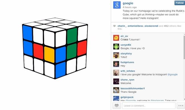 google-instagram-cubo-rubik