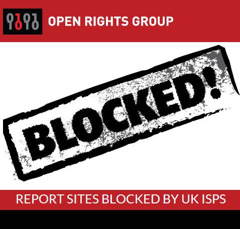 Censura: El 20% de los sitios web testeados por Open Rights , está bloqueado por ISPs #GranBretaña
