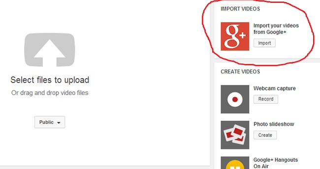 google-plus-import-button-youtube