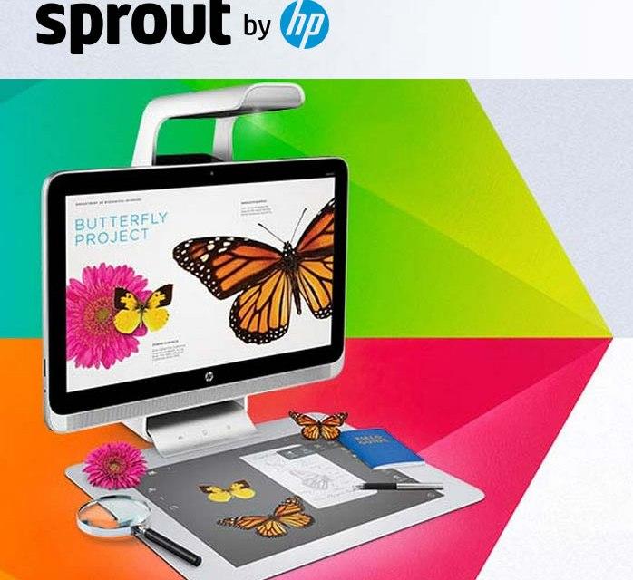 HP Sprout: 6 dispositivos en 1, para poner la computación al servicio de la creatividad #3D #interactivo