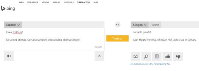 Actualización De Cortana Le Permitirá Hablar En Klingon