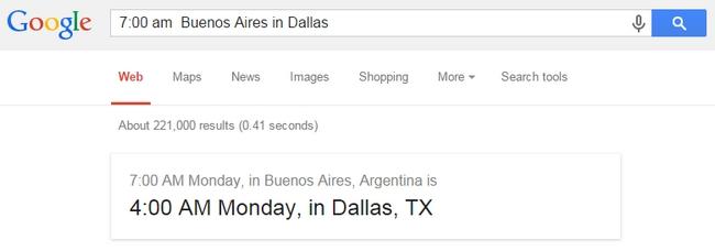 google-convert-time-zones