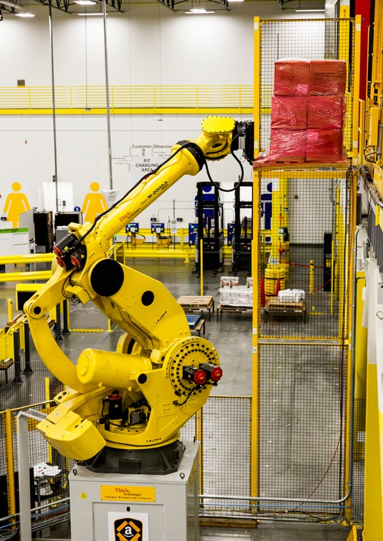 amazon-robo-stow-centro-de-abastecimiento