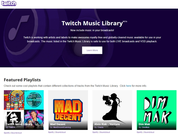 twitch-music-library