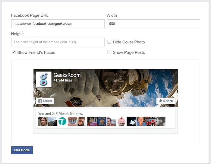 page-plugin-facebook-geeksroom