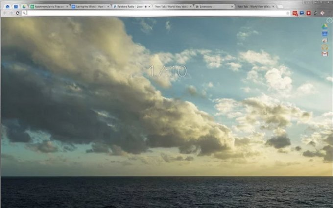 world-view-wallpaper-chrome-extension